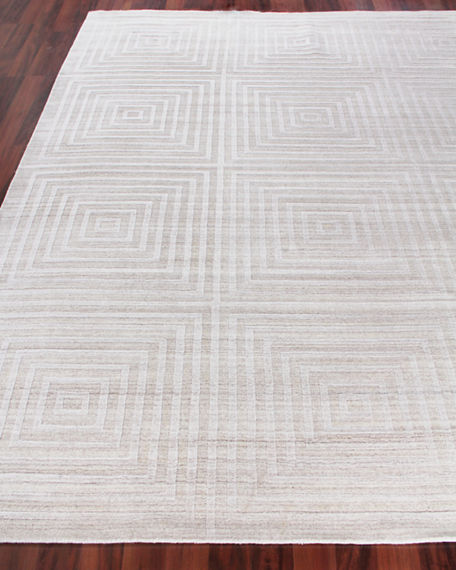 Image 1 of 4: Exquisite Rugs Portlyn Hand-Loomed Rug, 8' x 10'