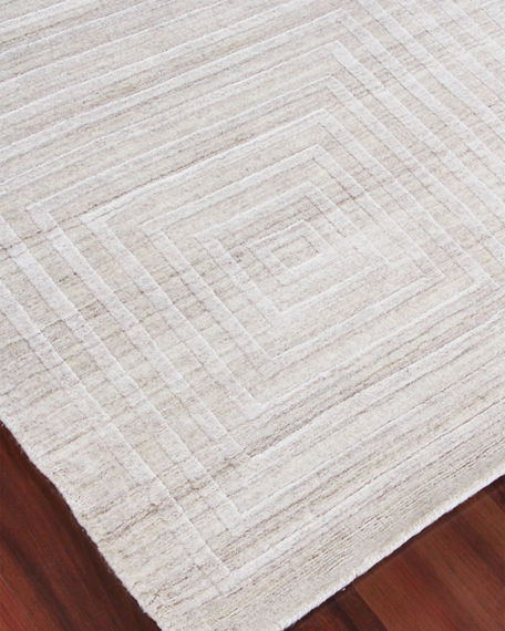 Image 2 of 4: Exquisite Rugs Portlyn Hand-Loomed Rug, 9' x 12'