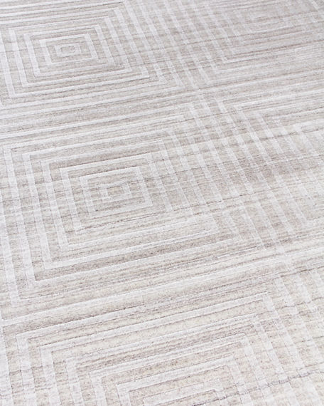 Image 4 of 4: Exquisite Rugs Portlyn Hand-Loomed Rug, 9' x 12'