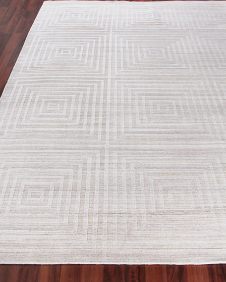 Image 1 of 4: Exquisite Rugs Portlyn Hand-Loomed Rug, 9' x 12'
