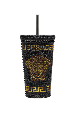 Versace Medusa Studded Travel Mug