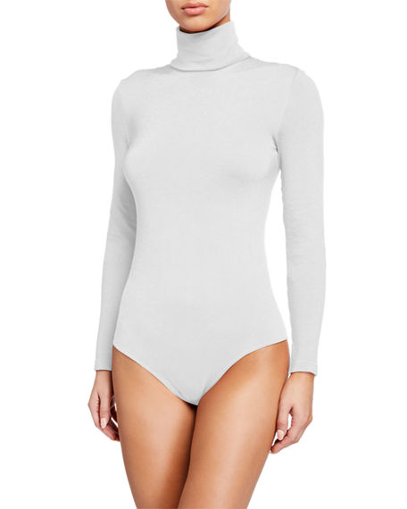 Image 2 of 3: Wolford Colorado String-Body Turtleneck