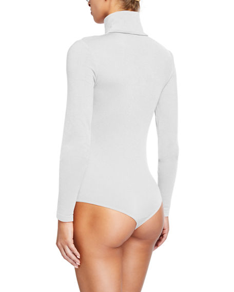 Image 3 of 3: Wolford Colorado String-Body Turtleneck