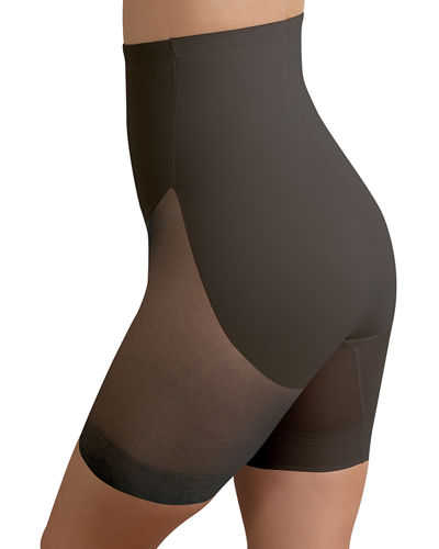 High-Waist Mid-Thigh Shaper