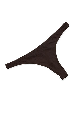 Skin Organic Cotton Low-Rise Thong
