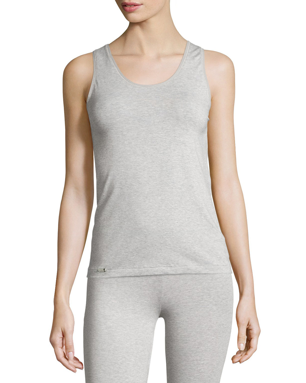 La Perla New Project Scoop-Neck Racerback Tank  68bfb2d95