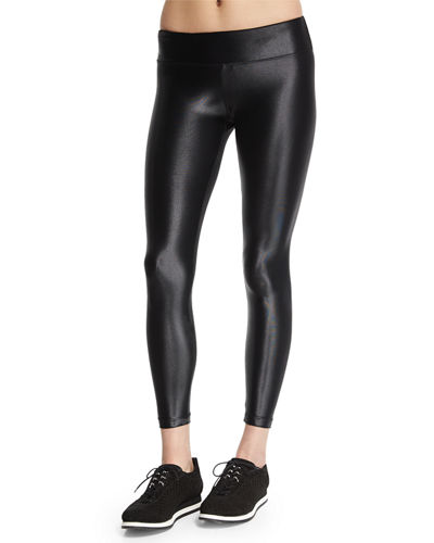 Lustrous High-Rise Legging