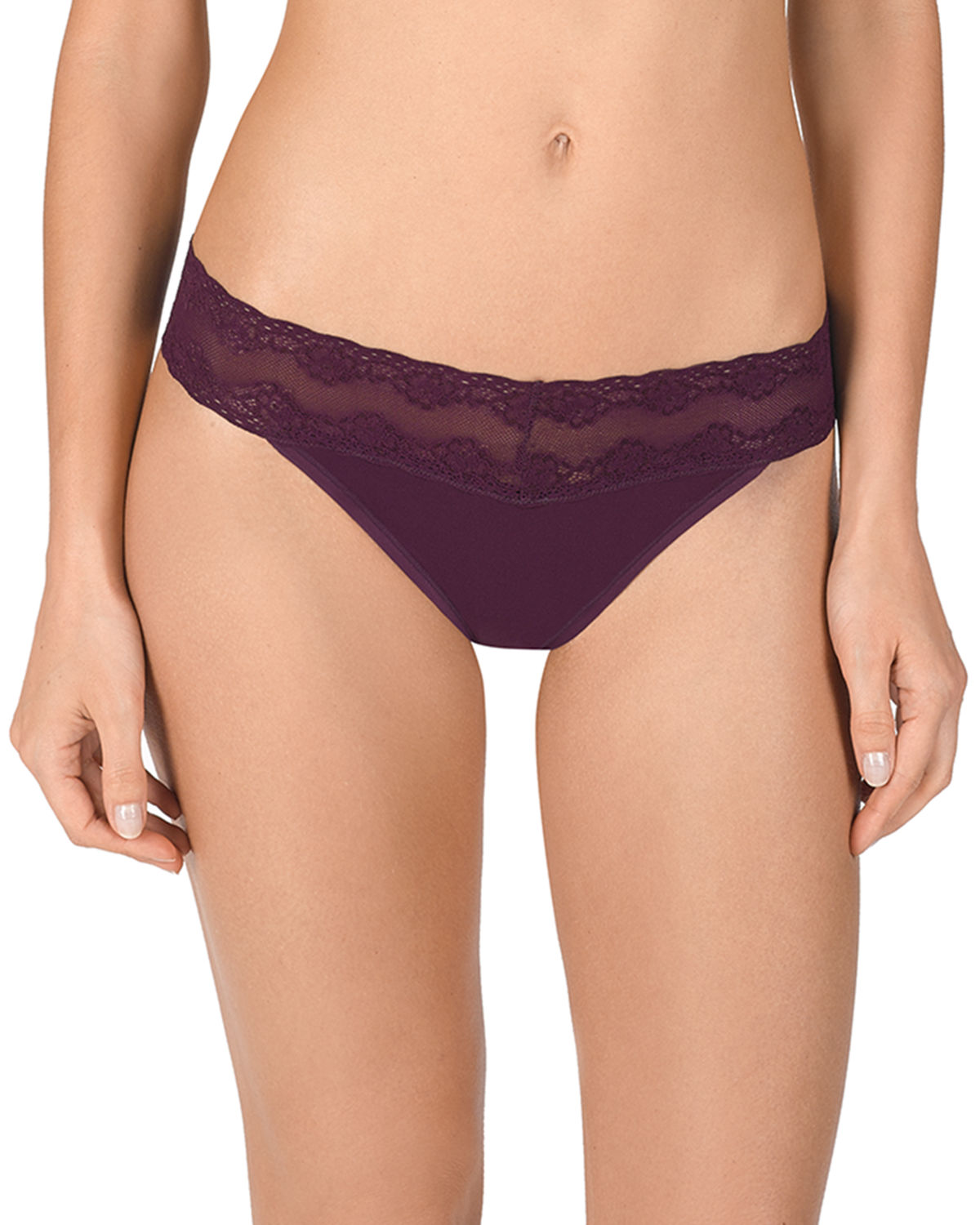 Bliss Perfection LaceTrimmed Thong