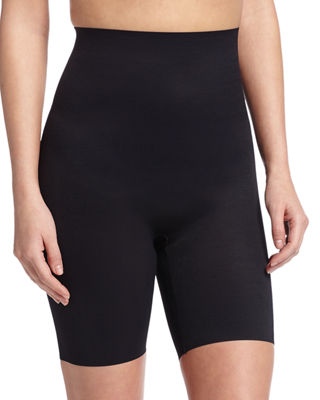Zoned 4 High-Waist Shaping Shorts