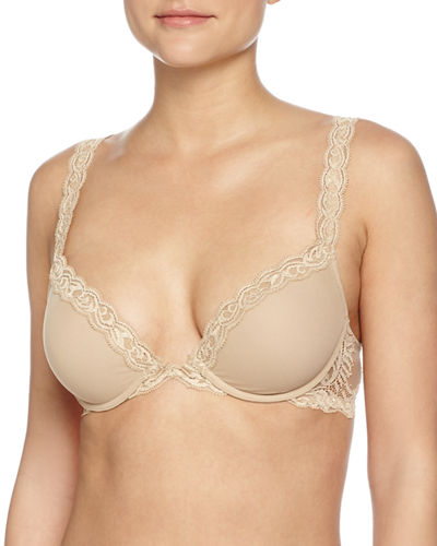 Feathers Push-Up Cup Convertible Bra
