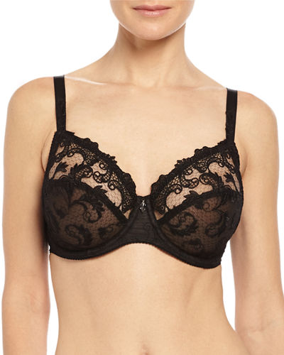 Lise Charmel Guipure Charming 3-Part Full-Cup Bra &