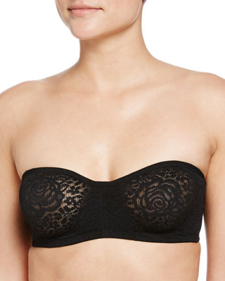 Image 1 of 4: Halo Lace Strapless Bra