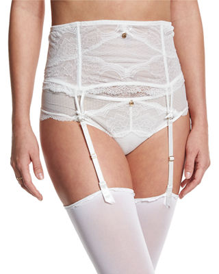 Chantelle Pr??sage Lace Garter Belt