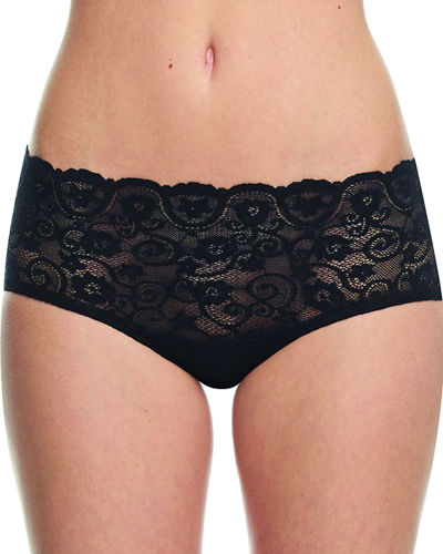 Double Take Lace Bikini Briefs