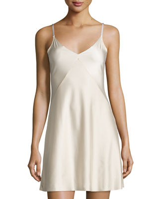 Commando Luxe Satin Princess Raw-Cut Slip