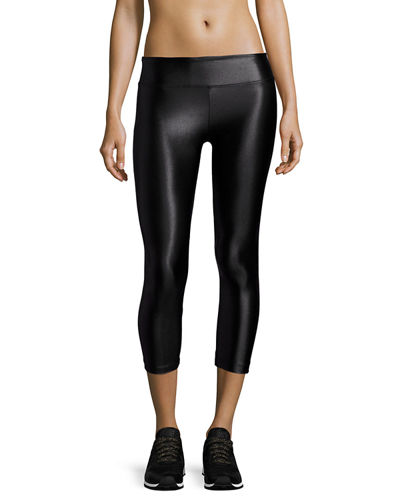 Koral Activewear Lustrous Capri Athletic Leggings