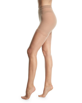 Nudes Tone-Matching Tights w/ Sandal Toe
