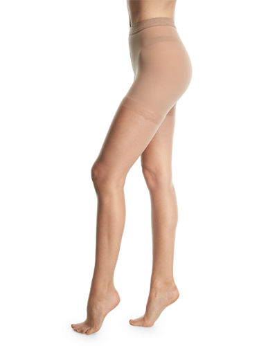 Donna Karan Nudes Tone-Matching Tights w/ Sandal Toe