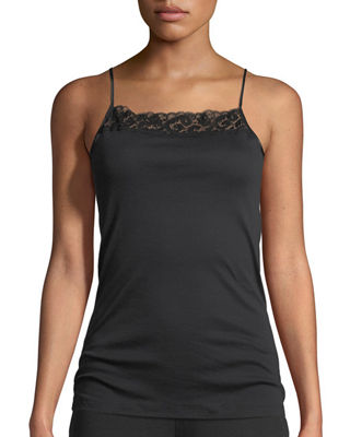 Image 1 of 3: Moments Lace-Trim Cami