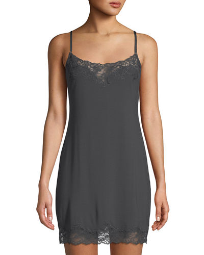 Undercover Lace-Trimmed Chemise