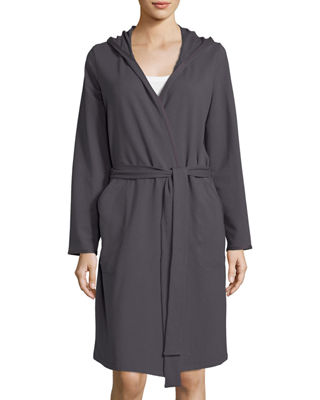Hanro Danielle Hooded French Terry Robe