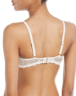 Image 2 of 2: Champs Elysees Lace Demi Bra