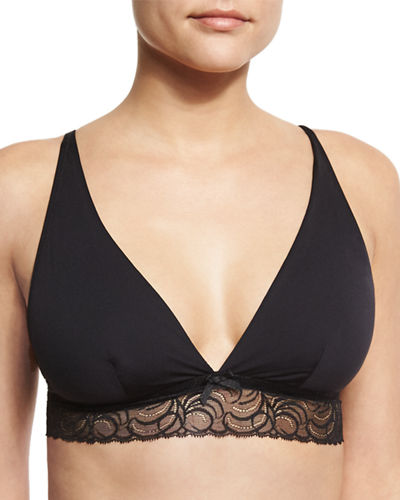 Cosabella Evolved Lace-Trim Soft Bra and Matching Items