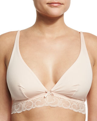 Evolved Lace-Trim Soft Bra