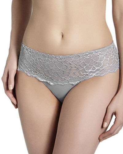 Caresse Lace-Trim Boyshorts
