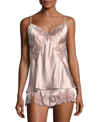 Lillian Lace-Applique Camisole
