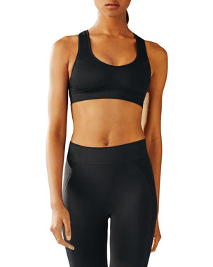 9fe38420e Tory Sport Seamless Racerback Medium-Impact Sports Bra