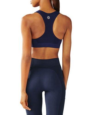 Seamless Racerback Medium-Impact Sports Bra