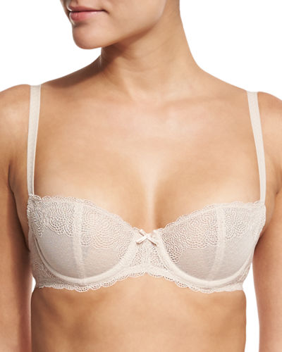 Chantelle Le Marais Unlined Lace Demi Bra