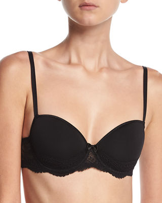 Eden Zen Spacer 3D Moulded Bra, Black