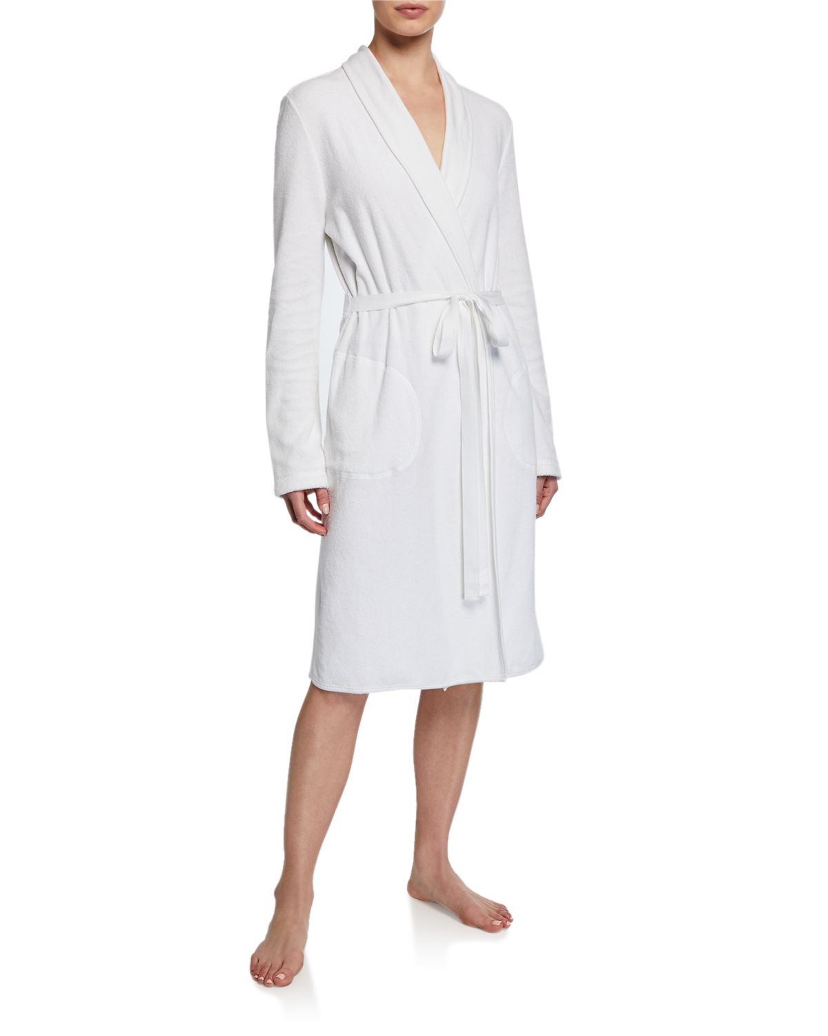 Skin French Terry Wrap Robe  5cbcceaf7