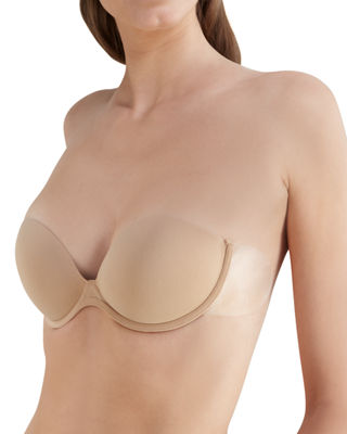 Go Bare Backless/Strapless Push-Up Bra