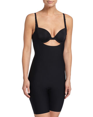 Spanx Thinstincts Targeted Open-Bust Bodysuit Shaper