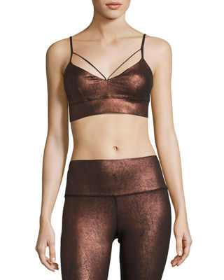 Alo Yoga Spotlight Yoga Performance Sports Bra