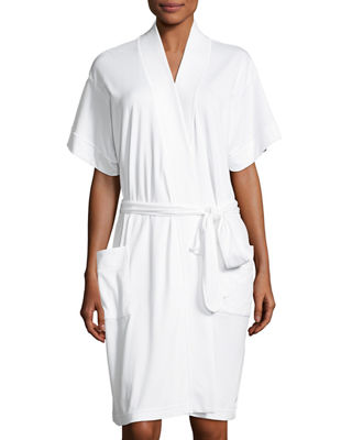 Image 1 of 2: Butterknit Short Wrap Robe