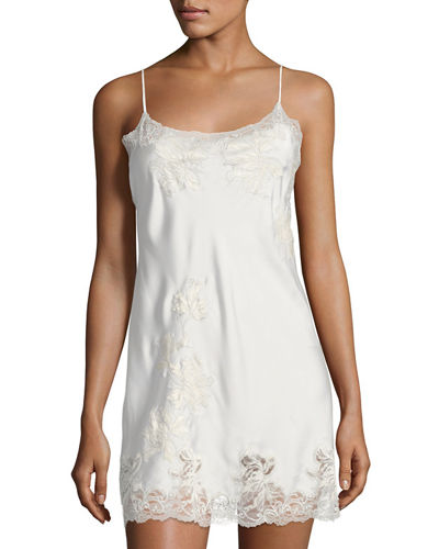 Chantilly Lace-Trimmed Chemise