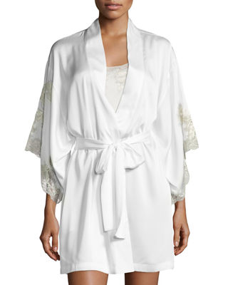 Natori Chantilly Lace-Trim Nightgown and Matching Items &