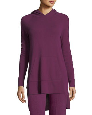 Neiman Marcus Cashmere Collection Cashmere Kangaroo-Pocket Lounge