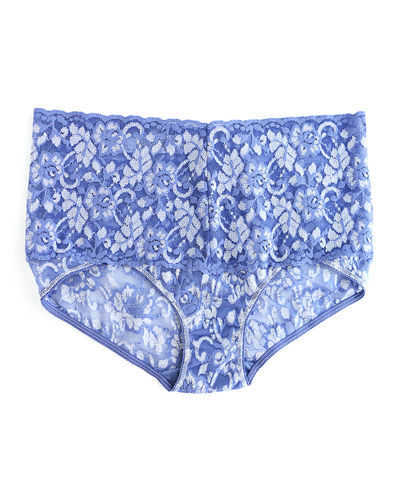 Cross-Dyed Retro Lace Briefs