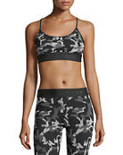 Koral Sweeper Versatility Camouflage Jacquard Sports Bra