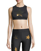 Ultracor Level Silk Knockout Star Crop Top and