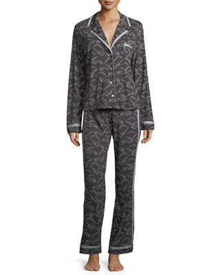 Cosabella Bella Printed Long-Sleeve PJ Set
