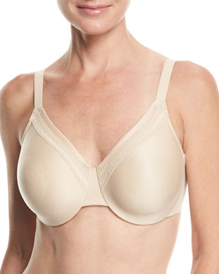 Wacoal Perfect Primer Full-Coverage Underwire Bra and Matching