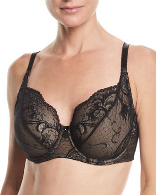 Distinguished Elegance Full-Coverage Underwire Bra