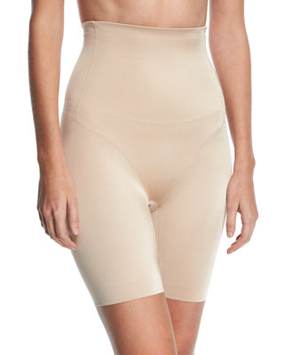 TC FINE INTIMATES High-Waist Rear-Boost Thigh Slimmer in Nude