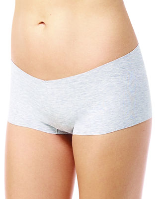 Commando Heathered Cotton Boyshort Briefs